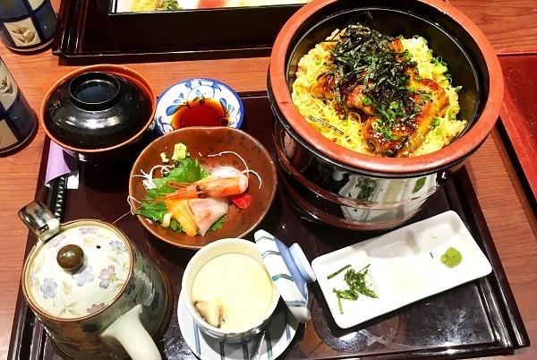 特選蒲燒鰻魚三重飯御膳($170)